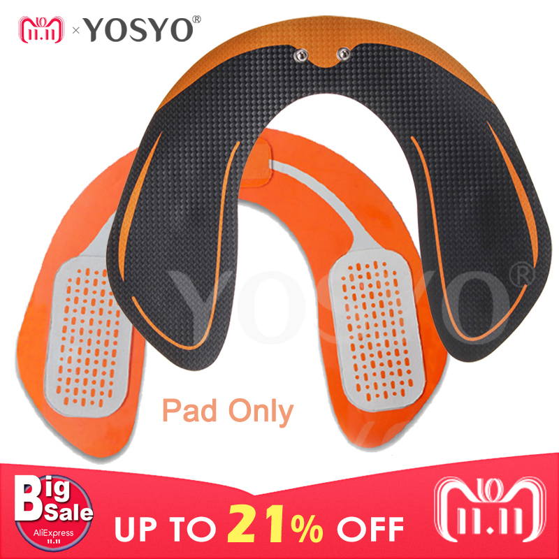 цены EMS Smart Hip Trainer Gel Patch Pad Only(NO MACHINE) EMS Muscle Stimulator ABS Buttock Tighter Massager BodyMassage Relaxtion