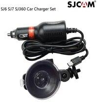 Oryginalny SJCAM samochodu mocowanie ładowarki uchwyt na przyssawkę dla SJ6 legenda SJ7 gwiazda SJ360 kamera sportowa Action akcesoria