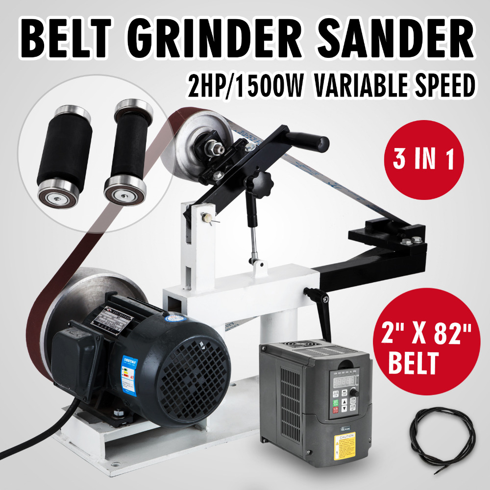 1.5KW belt grinder machine