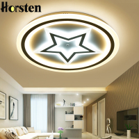 Modern Acrylic LED Ceiling Lights For Living Room Bedroom 50cm 60cm 80cm Simple Star Design Ceiling