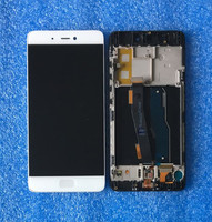 Axisinternational For 5.15 Xiaomi 5s Mi5s M5s with frame LCD screen Display and Touch panel Digitizer white/Black for xiaomi 5s