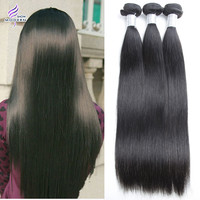 7A Brazilian Virgin Hair Straight 3Pcs/Lot Human Hair Weave Natural Color Queen Hair Brazilian Straight Virgin Hair Extensions