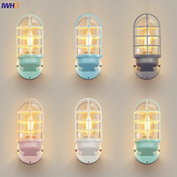 Wandlamp Nordic LED Wall Light Outdoor Lighting Glass Shade Outdoor Wall Lamp Courtyard Porch Lights Buiten Verlichting