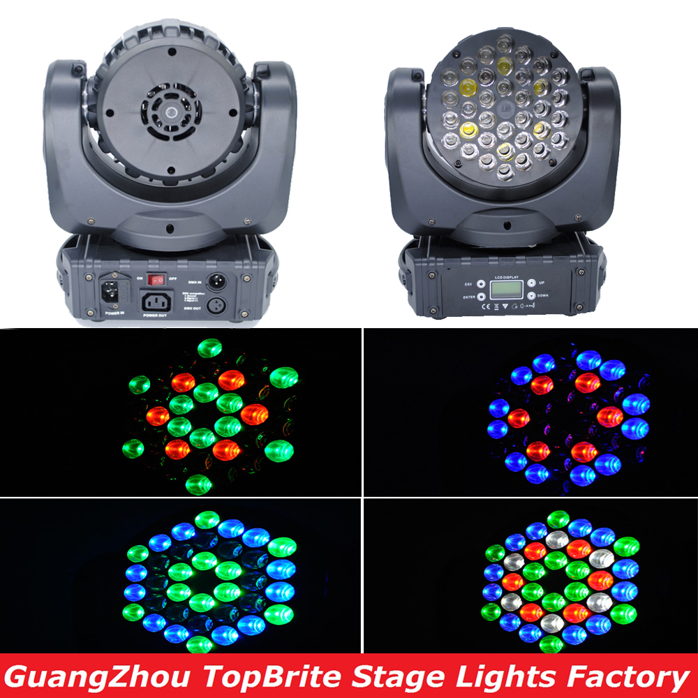 2016 Hot koop 36 * 3 W VS Cree Led LED Moving Head Beam Podium Licht - Commerciële verlichting - Foto 1