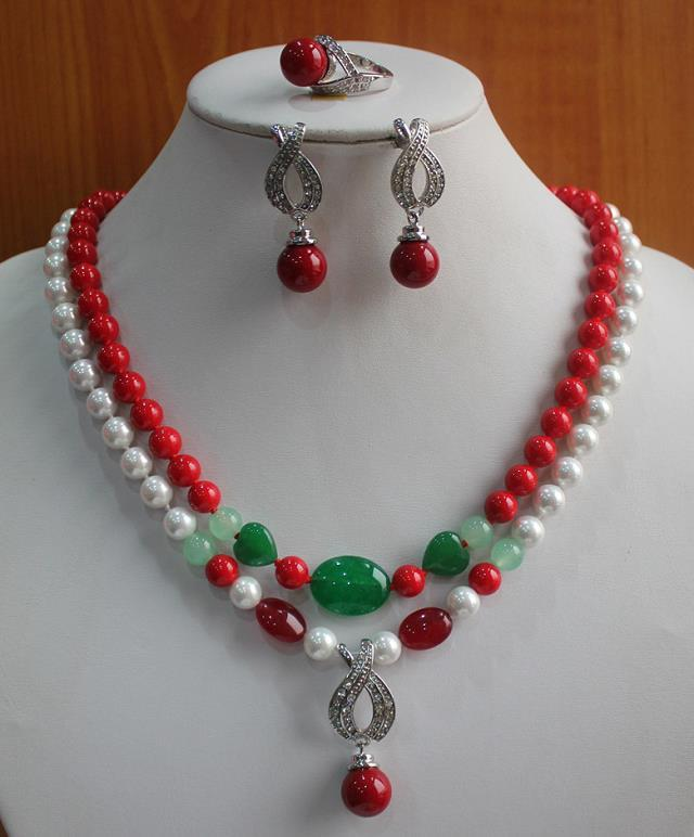 hot sell new - The lady's jewelry set is engaged.-nsgiksfdsfd