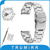 16mm 18mm 20mm 22mm 24mm Stainless Steel Watch Band Safety Buckle Watchband For Orient Wrist Belt