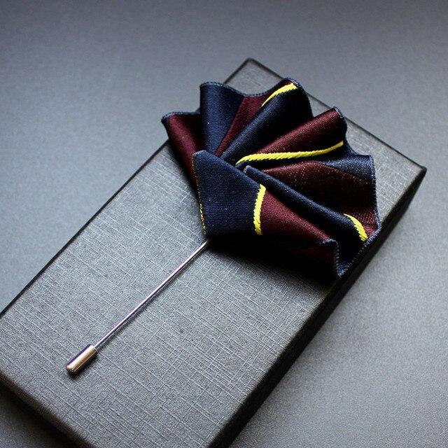 I-Remiel Новый Карманный платок для костюма рубашка булавки и броши Свадебная вечеринка подарки для гостей бижутерия для мужчин одежда аксессуары