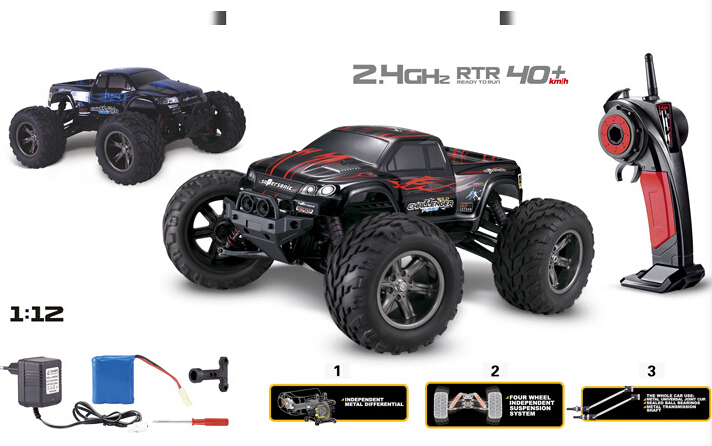 gptoys s911 1 12 2wd 35 mph 40km h 1 12 scale electric rc car 2 4ghz 2wd high speed remote. Black Bedroom Furniture Sets. Home Design Ideas