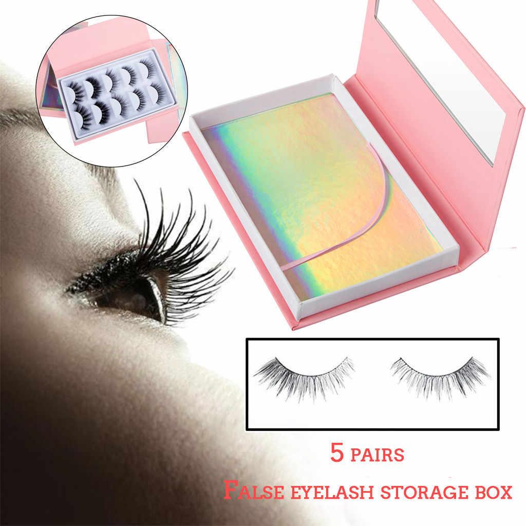Bulu Mata Palsu Penyimpanan Kotak Kosong Bulu Mata Perawatan Case Kotak Penyimpanan Wadah Pemegang Kompartemen Alat Kotak Hadiah #40