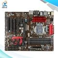 Para msi z77a-g43 gaming original usado motherboard desktop para intel z77 soquete LGA 1155 Para i3 i5 i7 DDR3 32G SATA3 USB3.0 ATX