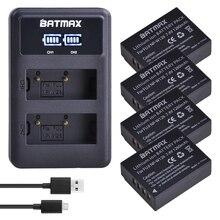 4 шт. 1260 мА/ч, NP-W126 NP W126 NP-W126S W126S Батарея+ светодиодный двойной Зарядное устройство для цифровой фотокамеры Fuji X-Pro1 XPro1 X-T1 XT1, HS30EXR HS33EXR X PRO1