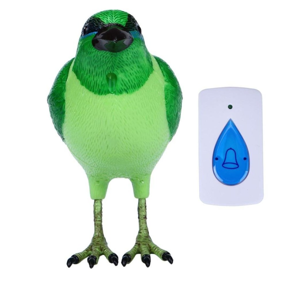 Draadloos Deurbel Vogel.Us 8 95 10 Off Digitale Vogel Deurbel Thuis Draadloze Afstandsbediening Muziek Deurbellen Homehould Alarm Met Led Indicator Jingle Bell In Digitale