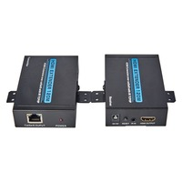 T 507 HDMI Extender Transmitter Receiver 1080p HD Singal to 120M Over Cat6/5e Cable 3D UK / US / EU Type