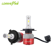 цена на LDRIVE Car Headlight H7 H4 LED H8/H11 HB3/9005 HB4/9006 H1 H3 9012 H13 9004 9007 48W 4800LM Auto Bulb Headlamp 6500K LED Light