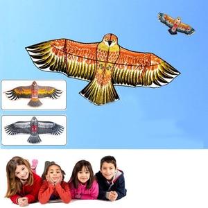 Огромный уличный Летающий змей в форме орла, змей с животными, детская игрушка