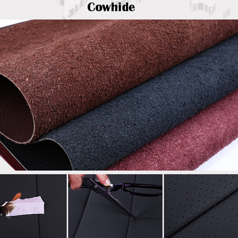 Car Believe Auto automobiles Cowhide leather car seat cover For Ford Fushion Focus Fiesta Edge Explore Kuga car accessories