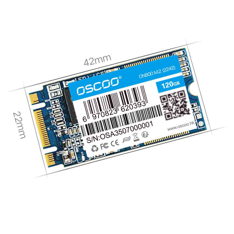 OSCOO m.2 <font><b>SSD</b></font> 2242 120GB 240GB <font><b>SSD</b></font> HDD 22x42mm NGFF M2 <font><b>120</b></font> <font><b>GB</b></font> 240 <font><b>SATA</b></font> Solid State Hard Disk for PC Notebook Free Shipping Cheap image