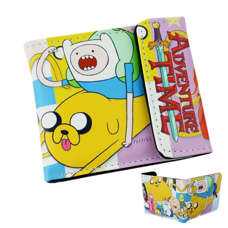 Anime Cartoon Wallet Doctor Who/Adventure Time/Jack/Zelda and Minions  Purse Three Fold Wallets Dollar Price 5 pcs lot cartoon anime wallet wholesale nintendo game pocket monster charizard pikachu wallet poke wallet pokemon go billetera