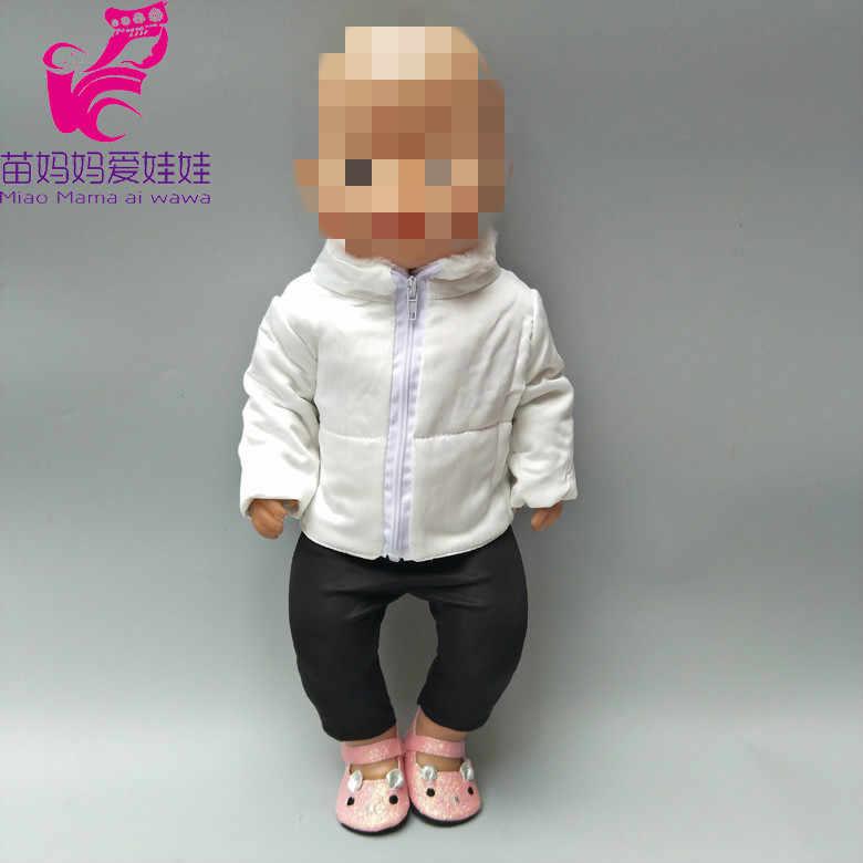 """Одежда для куклы 43 см Детские куклы куртка одежда для 17 """"43 см baby reborn Doll пуховое пальто Детская кукла игрушки одежда"""