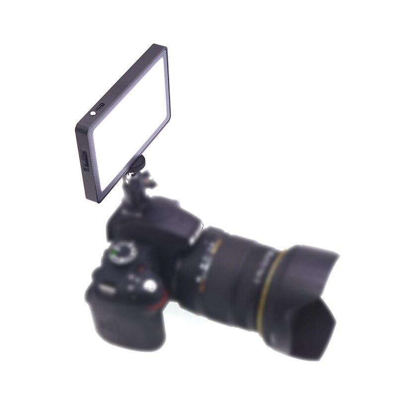 Appareil Photo lumière de remplissage avec affichage magnétique O LED 96 LED pour appareil Photo reflex numérique vidéo XXM8