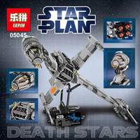 Lepin 05045 New 1487Pcs Genuine Star War Series The B Wing Starfighter Building Blocks Bricks Educational