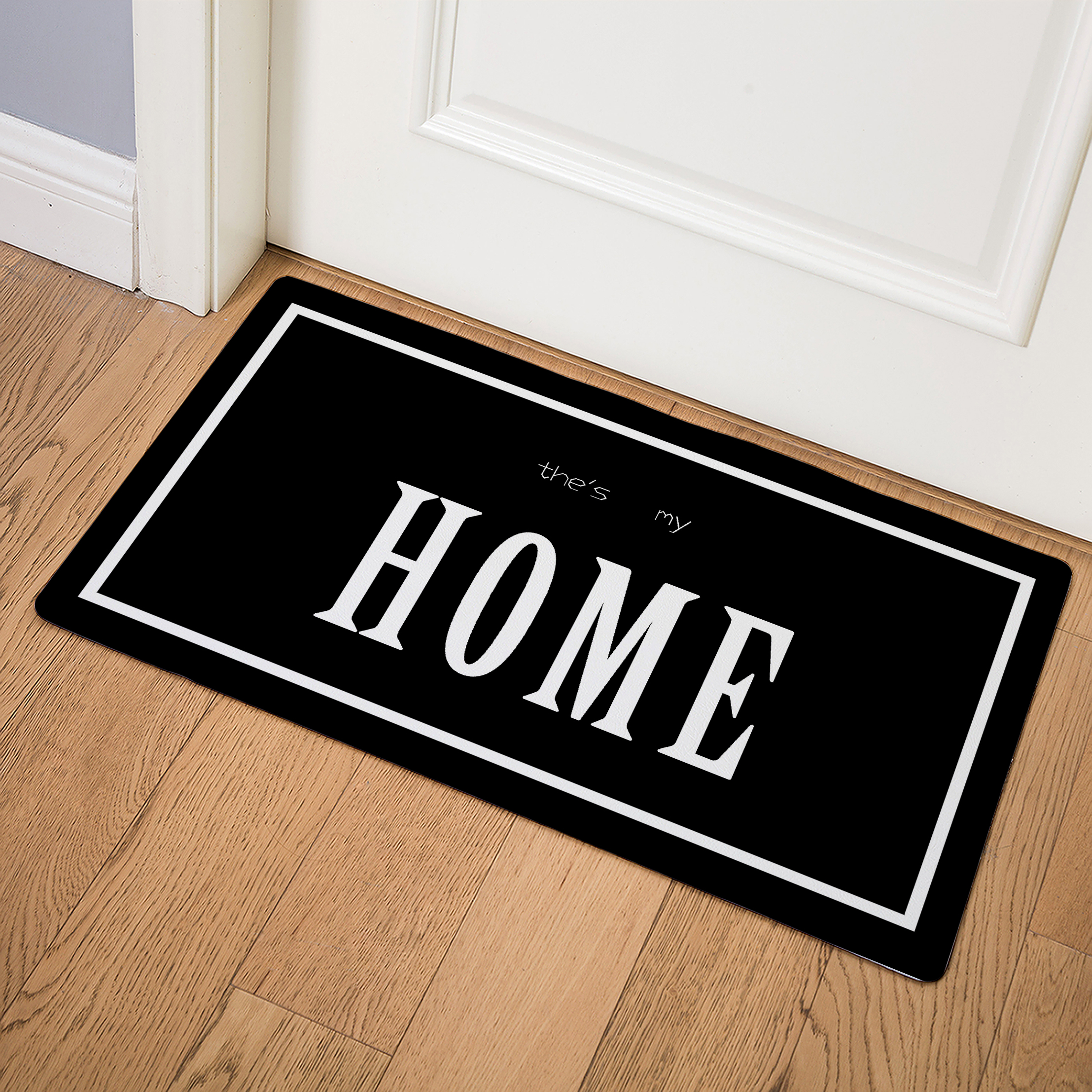 HOME Bedroom Rugs Nordic Style Creative Floor Mats Imitation Ieather Doormat Home Decoration Mat In The Hallway  Donut-in Mat from Home & Garden