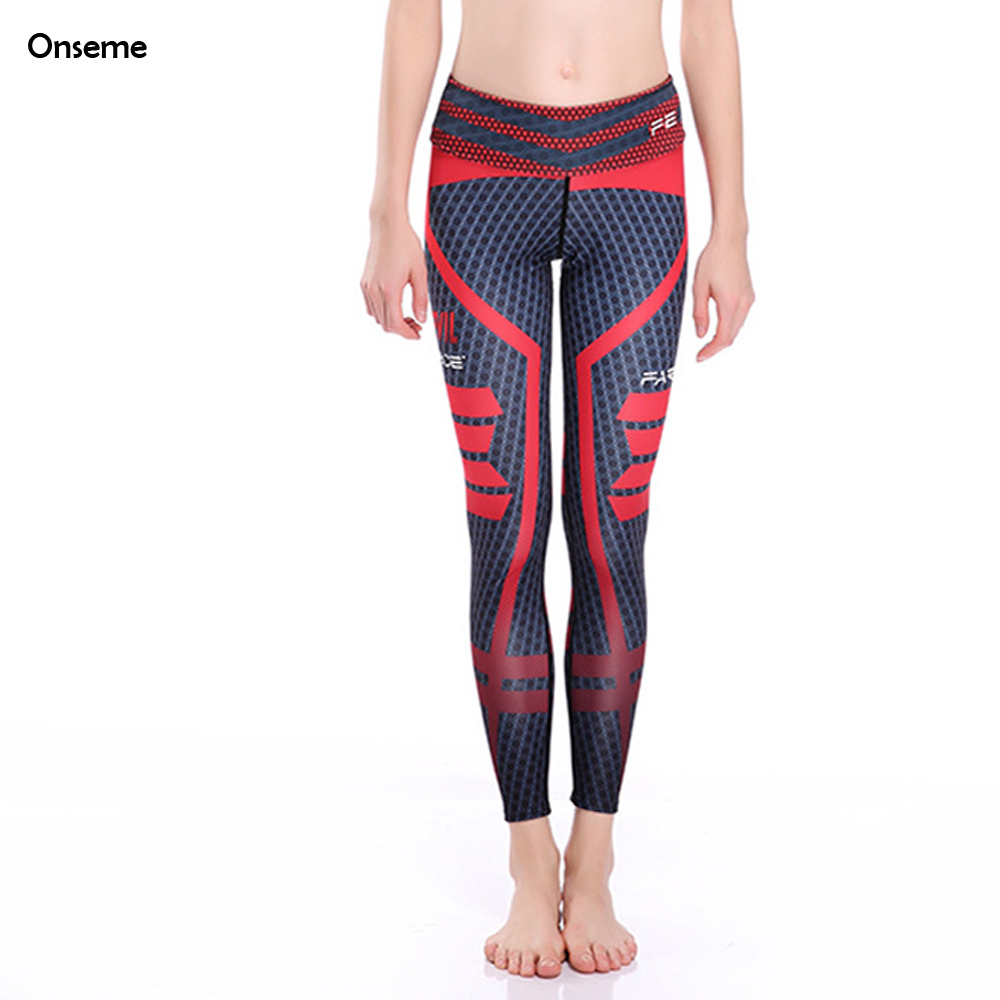 Mid Waist Stretched Leggings Workout Clothes For Women Spandex Fitness Leggins Slim Compression Pants Sexy Hips Legging CJO-431