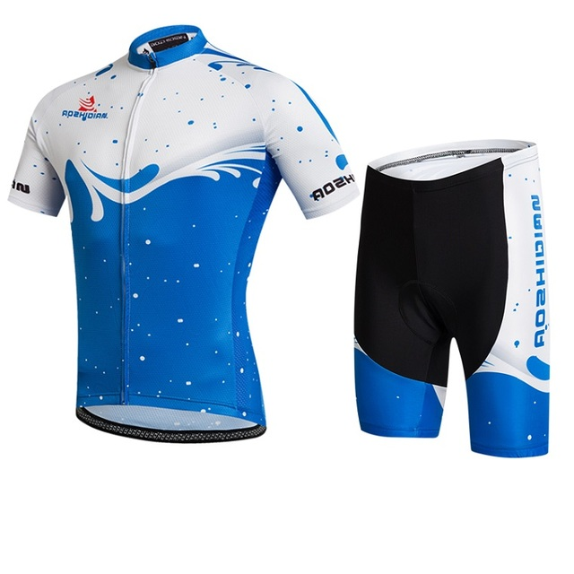 0a56a375236 Cheap Cycling Clothing Cycling Jersey Barcelona 2017 Short Sleeve Men Bike  Clothing Maillot Ciclismo Cycling Shorts Suit Padded