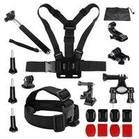 SHOOT Cycling Accessories Set For Go Pro Hero 5 4 3 SJCAM Xiaomi Yi 4k Xiaoyi