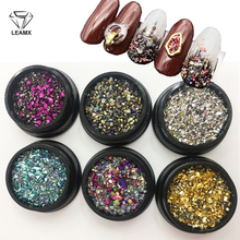 LEAMX Mix Type/Box Nail Stone Design Rhinestone Decoration Art Crystal Decor UV Gel Glitter DIY 3D Strass L457