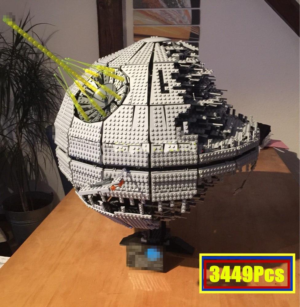 Star Wars Lepin 05026 UCS Todesstern II Baustein Ziegel Spielzeug LegoINGlys 10143...