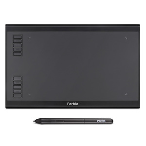 Image 1 - Parblo A610 Plus Digital Drawing Tablet With the Passive Pen of 8192 Pressure Levels 10 Express Keys