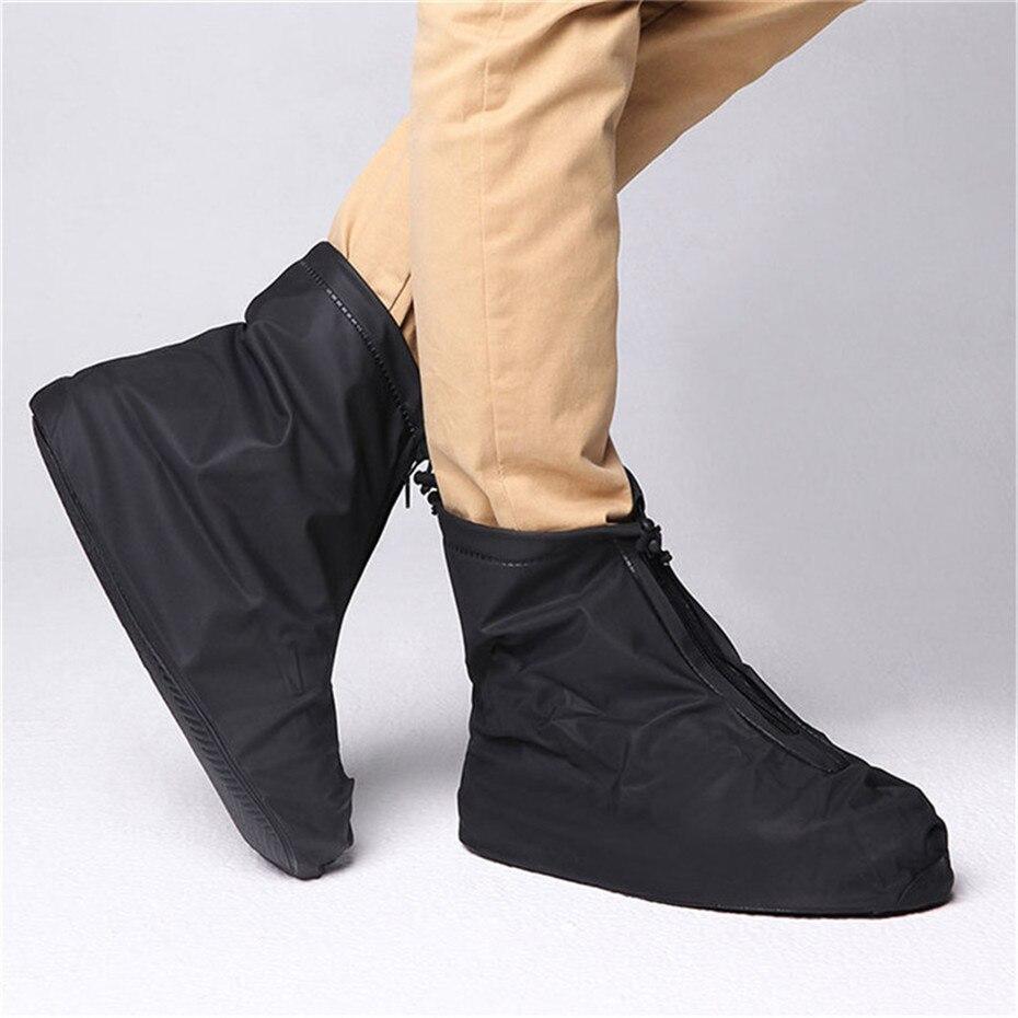 Reusable Rain Overshoes Waterproof Leisure Sport Shoes Cover Rainproof Shoes Boot Protector Anti-slip Shoes Case