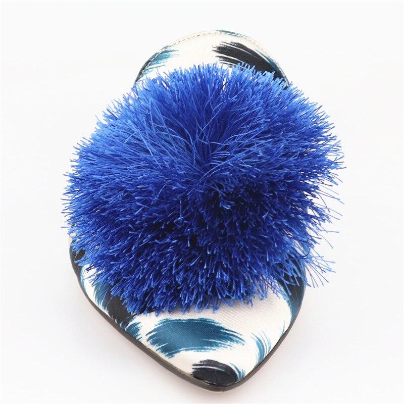 blu Pantofole Asumer al Novità donne Russia muli Scarpe taglia Moda 42 2019 fuori di Scarpe per Tassel le punta Estate a donna CrxtC1qwO
