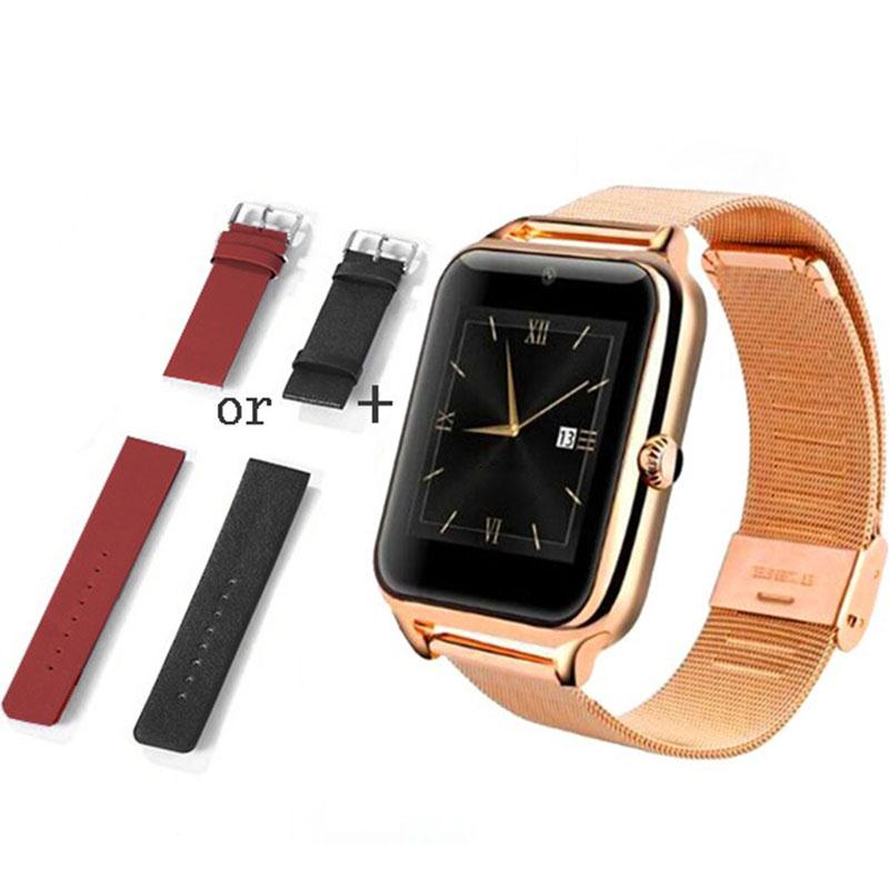 Luxury 1 54 Inch Bluetooth smart watch wrist fitness track font b smartwatch b font for