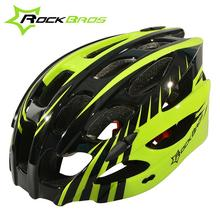 ROCKBROS 57-62cm Pro MTB Bicycle Helmet with Visor EPS+PC Ultralight Integrally-molded 28 Air Vents Road Bike Cycling Helmet