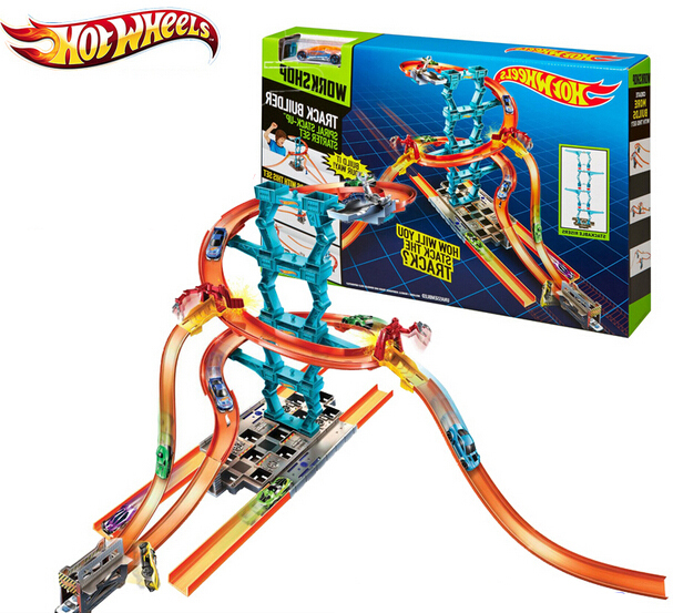 hot wheels chx36 roundabout track toy kids toys plastic metal miniatures scale cars track model chx36