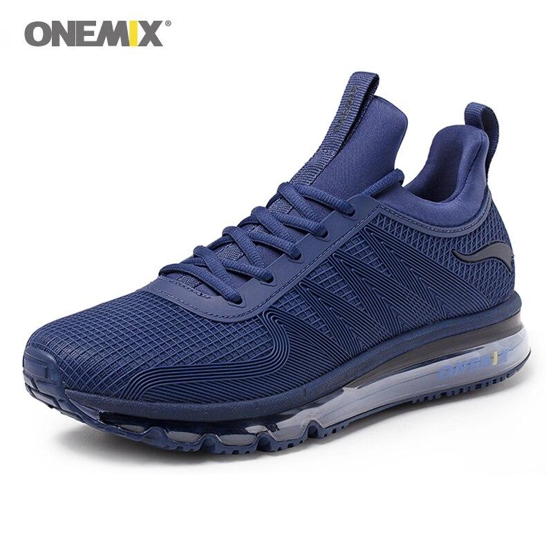 Chaussures de course à coussin d'air Onemix 97 pour hommes chaussures de sport à absorption de choc haut pour chaussures de jogging en plein air