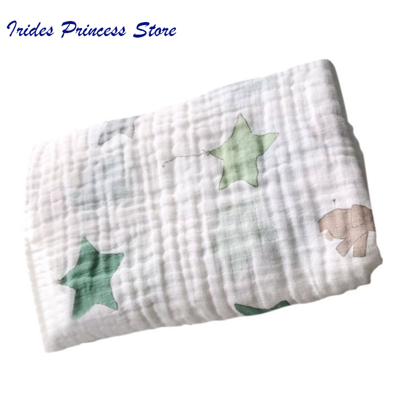 Newborn Baby Blanket Cotton Baby Muslin Swaddle Blanket Quality Better Baby Multi-use Cotton Blanket Infant Towel Swaddle