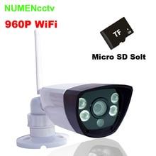 NuMenWorld AP Wi-Fi IP cam 960 P SD HD P2P 802.11b/g/n Беспроводной сети Проводные Ip-камеры ИК Открытый Водонепроницаемая Камера IP