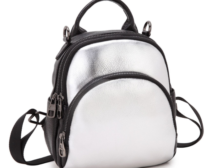 Designer Backpack For School Teenager Girl High Quality Genuine Leather Contrast Color Mini Backpack Fashion Casual BackpackQ053 цена 2017