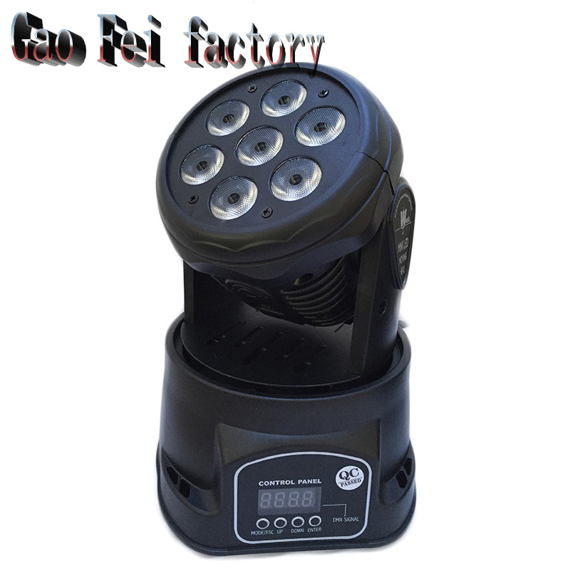 LED Moving Head Mini wash 7x12w RGBW Quad with advanced 14 channels factory directly sale 10 pieces promotional packaging led moving head mini wash 4x10w rgbw quad with advanced 9 12 channels free