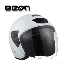 Genuine BEON dual lens and a half font b motorcycle b font half helmet warm winter