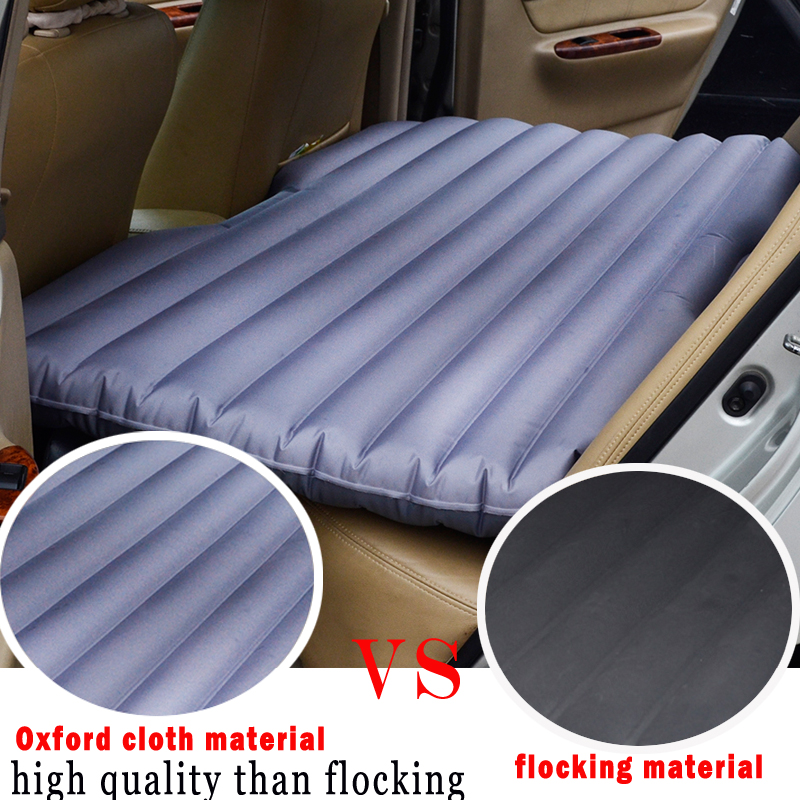oxford fabric material inflatable air car bed inflatable seat outdoor sofa thicken outdoor mattress car mattress travel kids