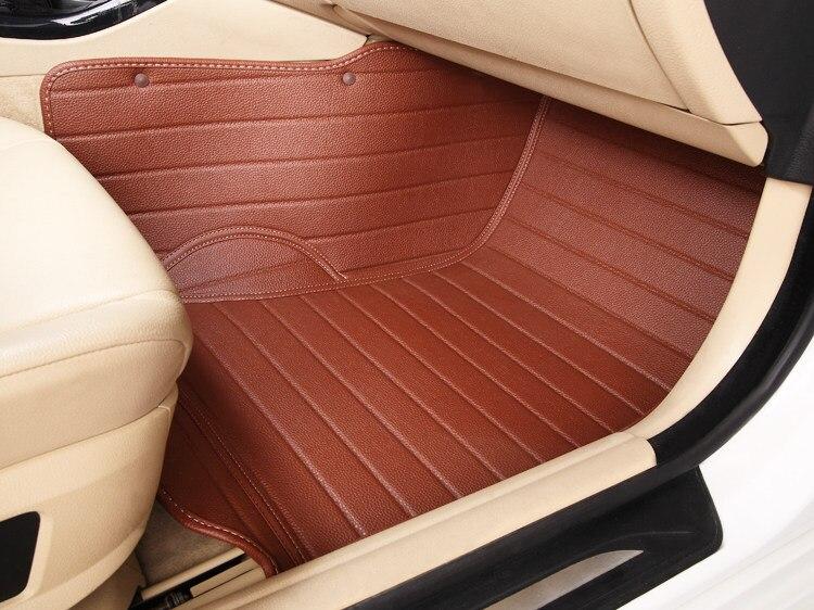 no odor waterproof XPE non slip full surround car floor mats for VW BORA POLO GOLF 4/6/7 Cross BEATLE JETTA lavida Multivan