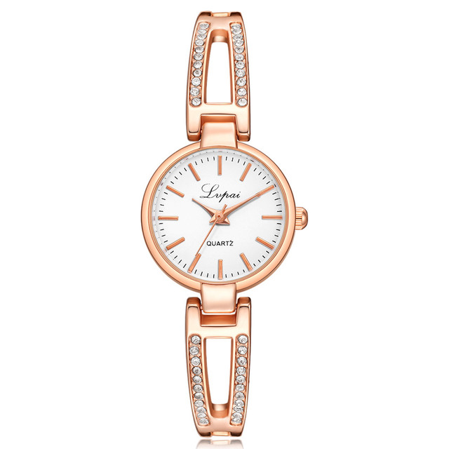 Women Bracelet Watch Creative Ladies Quartz Wristwatch Female Diamond Quartz Wat