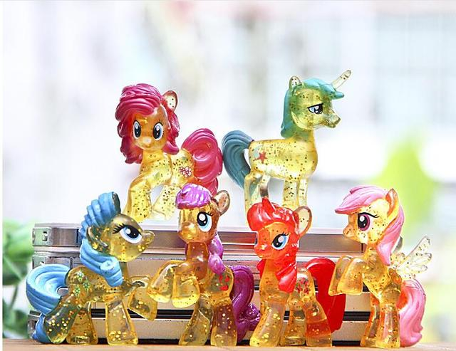 Little Pony Action Figures Set