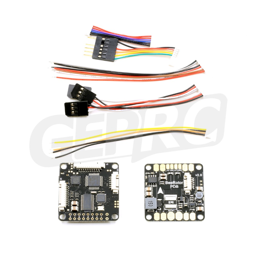 цены Newest BeeRotor F3 Flight Controller with OSD & PDB board for QAV250 280 ZM 250 280 robocat270 mini quadcopter