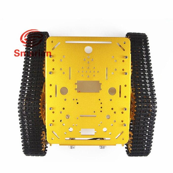 Official smarian T300 Aluminum Alloy Metal Robot Tank Chassis Track Caterpillar Car Frame Platform Crawler Pedrail