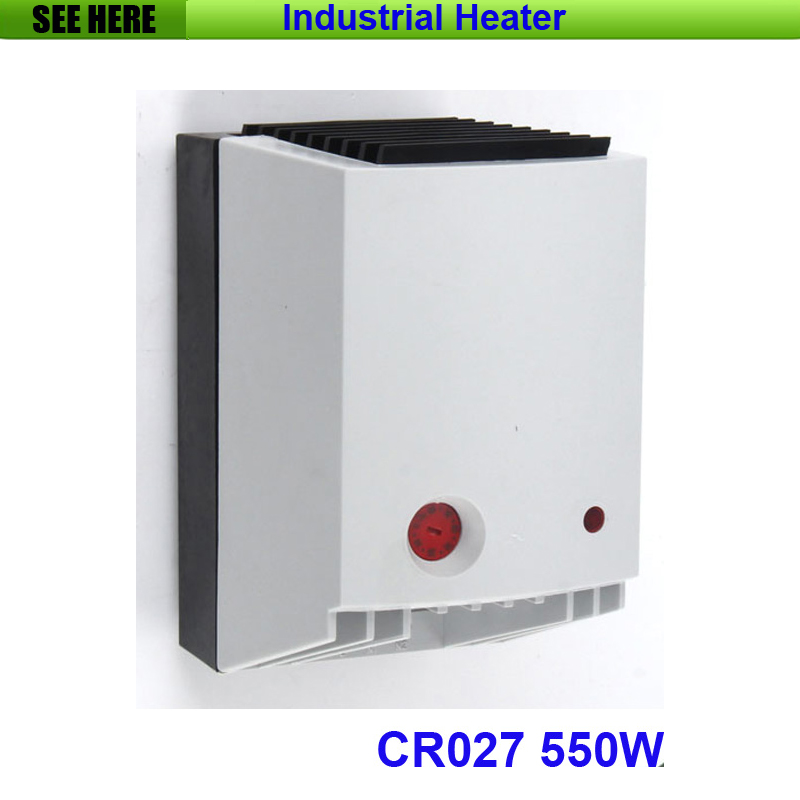 High Quality Industrial Used Small Compact 550w PTC Heating Element Semiconductor Fan Heater CR027